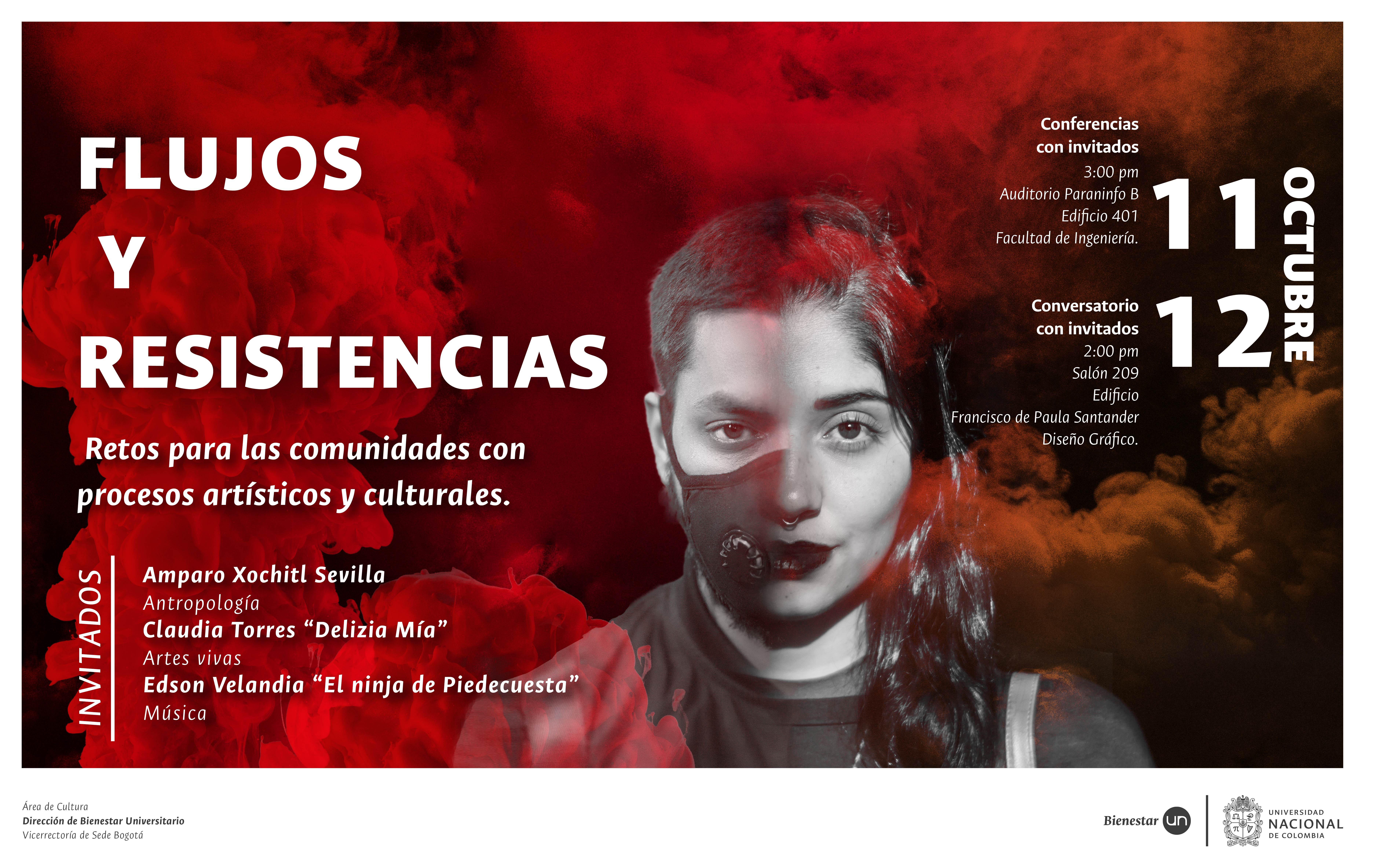 Encuentro de investigadores «Flujos y Resistencias, Retos para las comunidades con procesos artísticos y culturales»