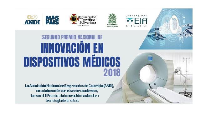 Segundo Premio Nacional de Innovación en Dispositivos Médicos en Colombia (ANDI, UPB, EIA y UdeA)