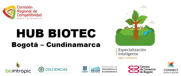 Sesión de trabajo del HUB BIOTEC Bogotá-Cundinamarca