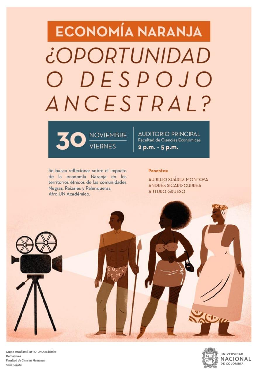 Evento «Economía naranja: ¿oportunidad o despojo ancestral?»