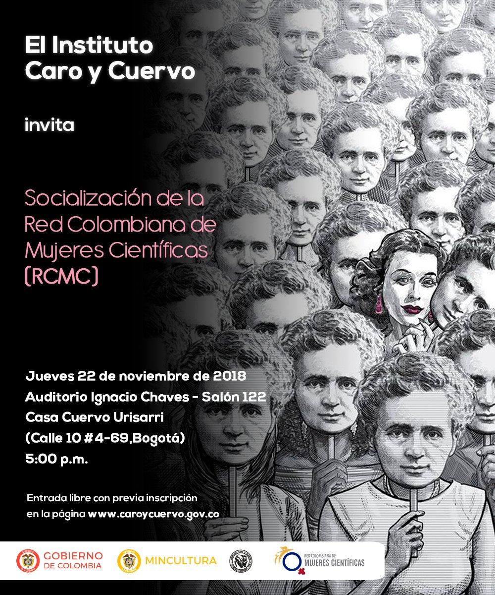 Socialización de la Red Colombiana de Mujeres Científicas