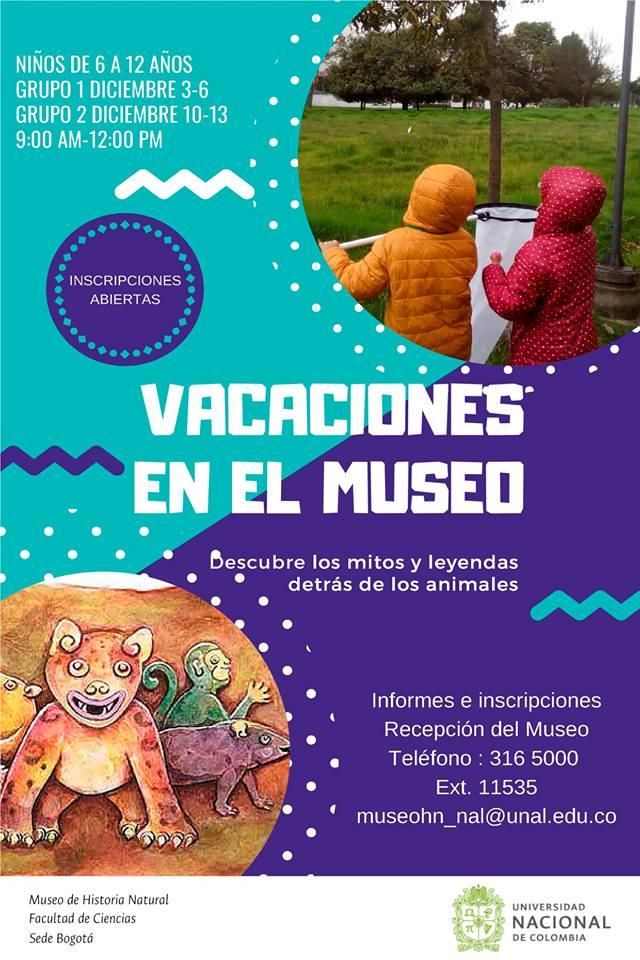 «Vacaciones en el Museo» (diciembre 2018)
