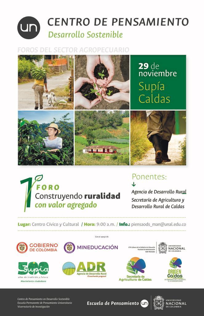 1er. Foro «Construyendo ruralidad con valor agregado»