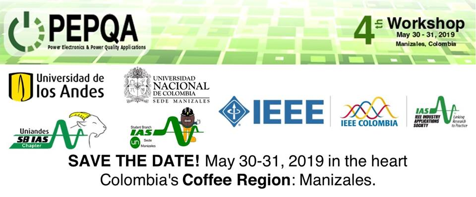 4th International IEEE Workshop on Power Electronics and Power Quality Applications (PEPQA)