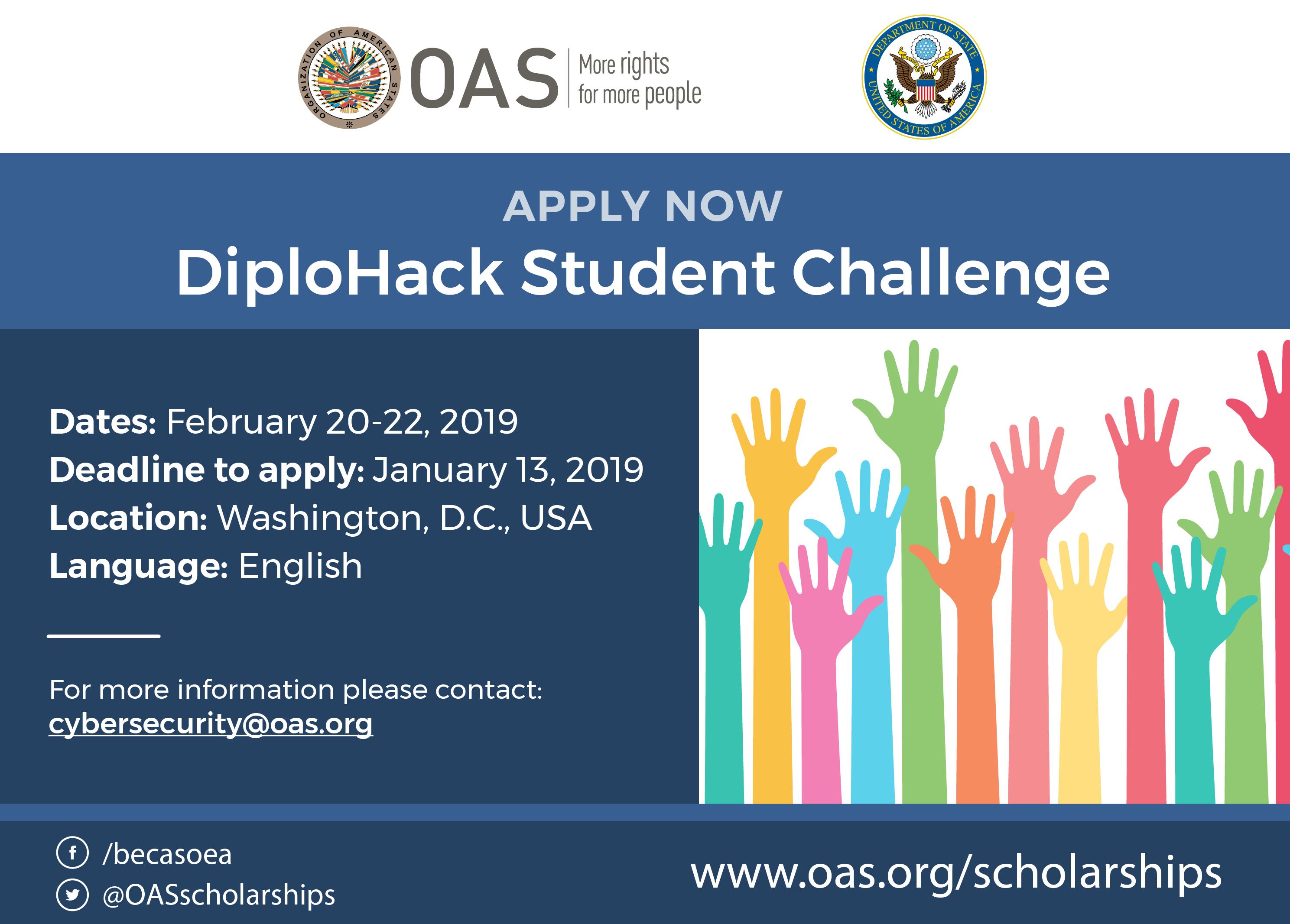 2019 OAS – DiploHack Student Challenge