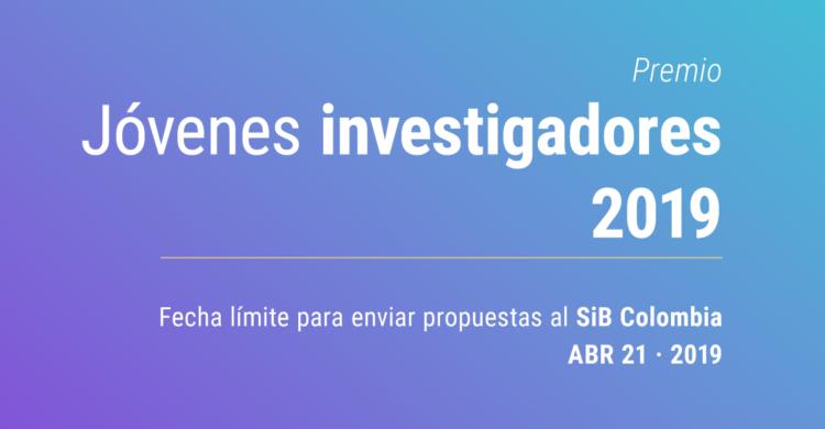Convocatoria Premio GBIF a Jóvenes Investigadores 2019