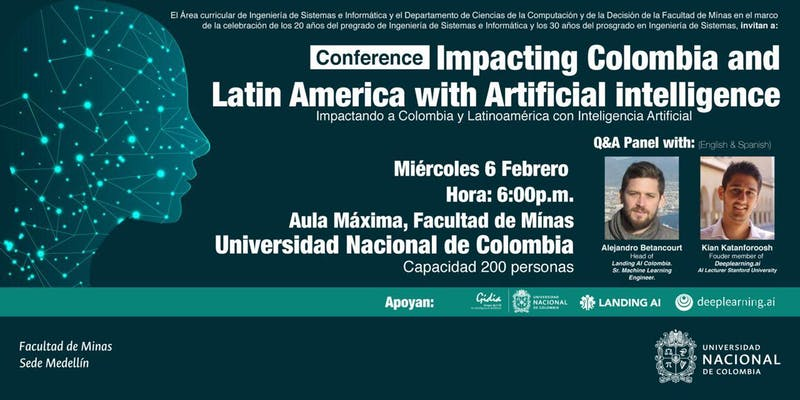 Conference «Impacting Colombia and LATAM with Artificial Intelligence»