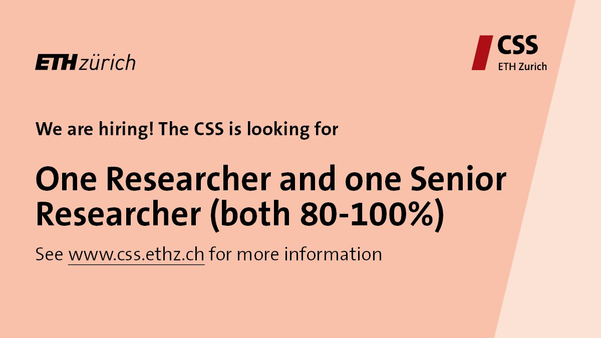Center for Security Studies (CSS), ETH Zurich