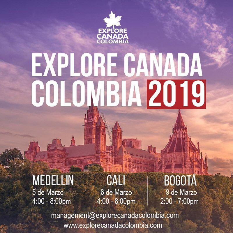 Explore Canada Colombia 2019