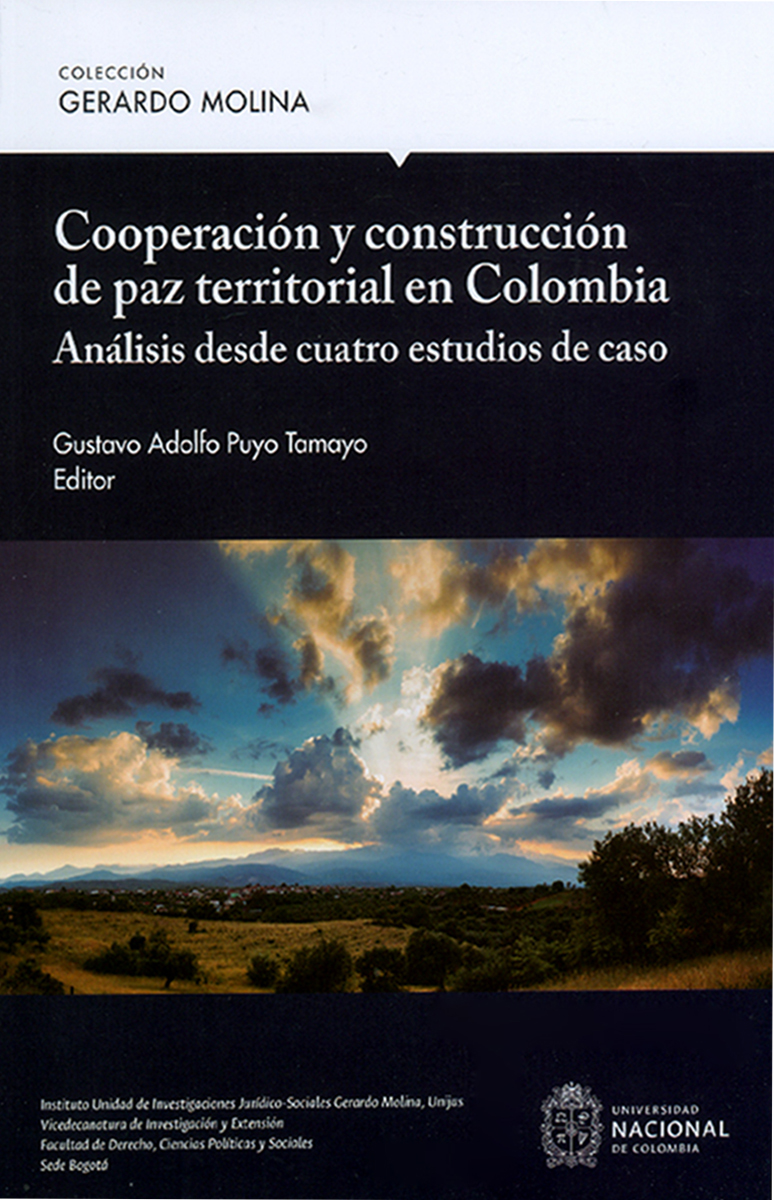 'Cooperación y construcción de paz territorial en Colombia. Análisis desde cuatro estudios de caso'