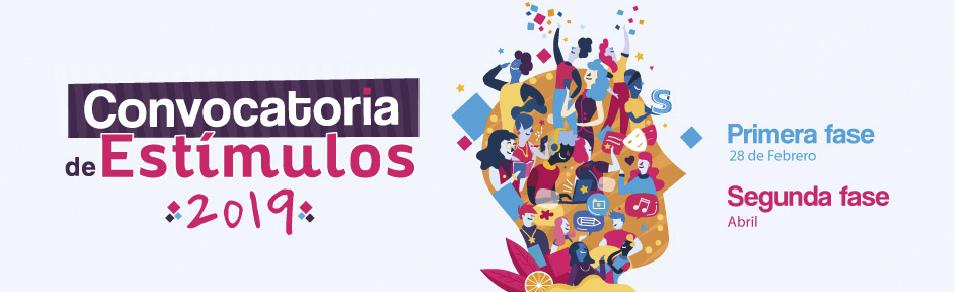 Convocatoria del Programa Nacional de Estímulos 2019 (Ministerio de Cultura)