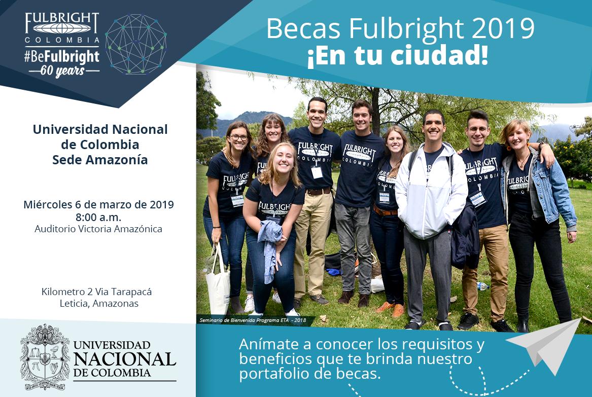 Seminario en la U. N. sede Amazonia: 6 mar. 2019, 08:00
