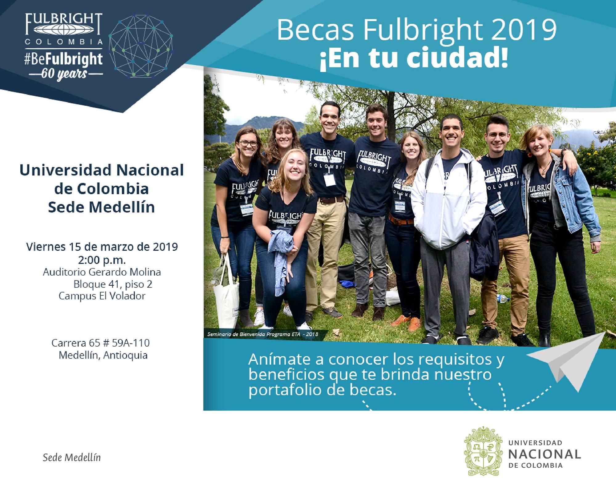 Seminario en la U. N. sede Medellín: 15 mar. 2019, 14:00