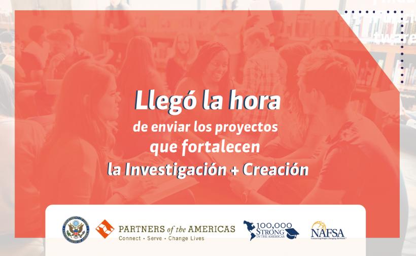 Convocatoria Propuestas para el Fondo de Innovación Nexo Global para Industrias Creativas y Culturales (100,000 Strong in the Americas, Colciencias, Departamento de Estado de EUA)