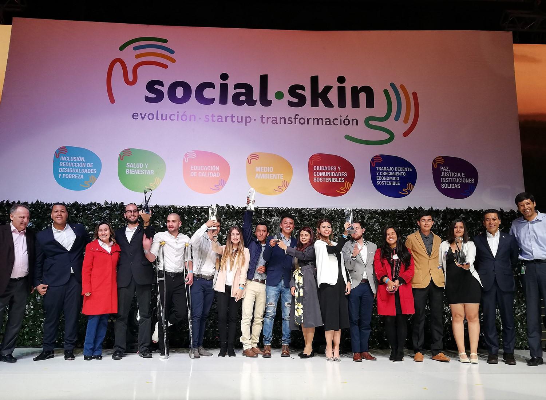 Ganadores de Social Skin (Foto: Grupo Bolívar)