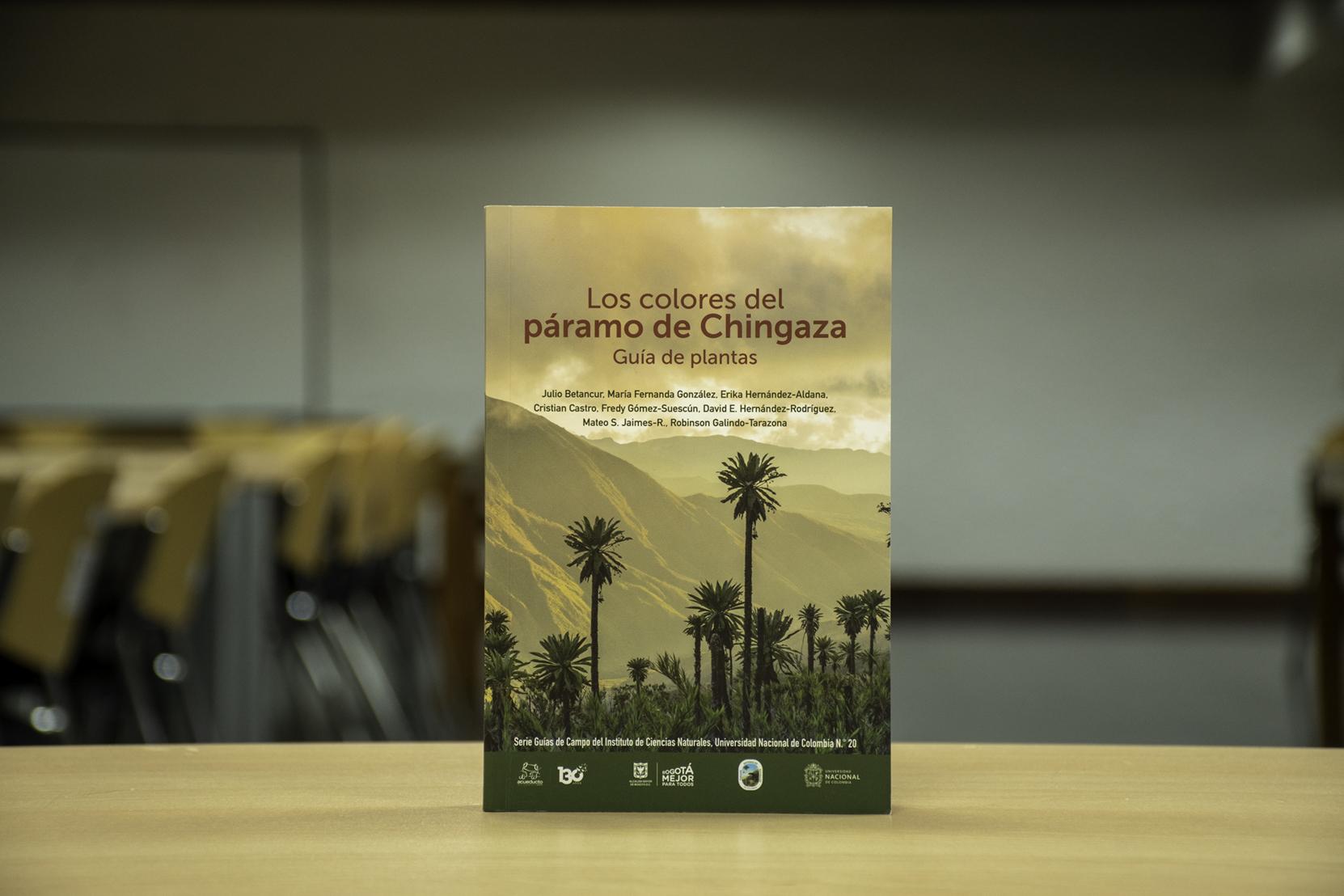 'Los colores del páramo de Chingaza. Guía de planta'