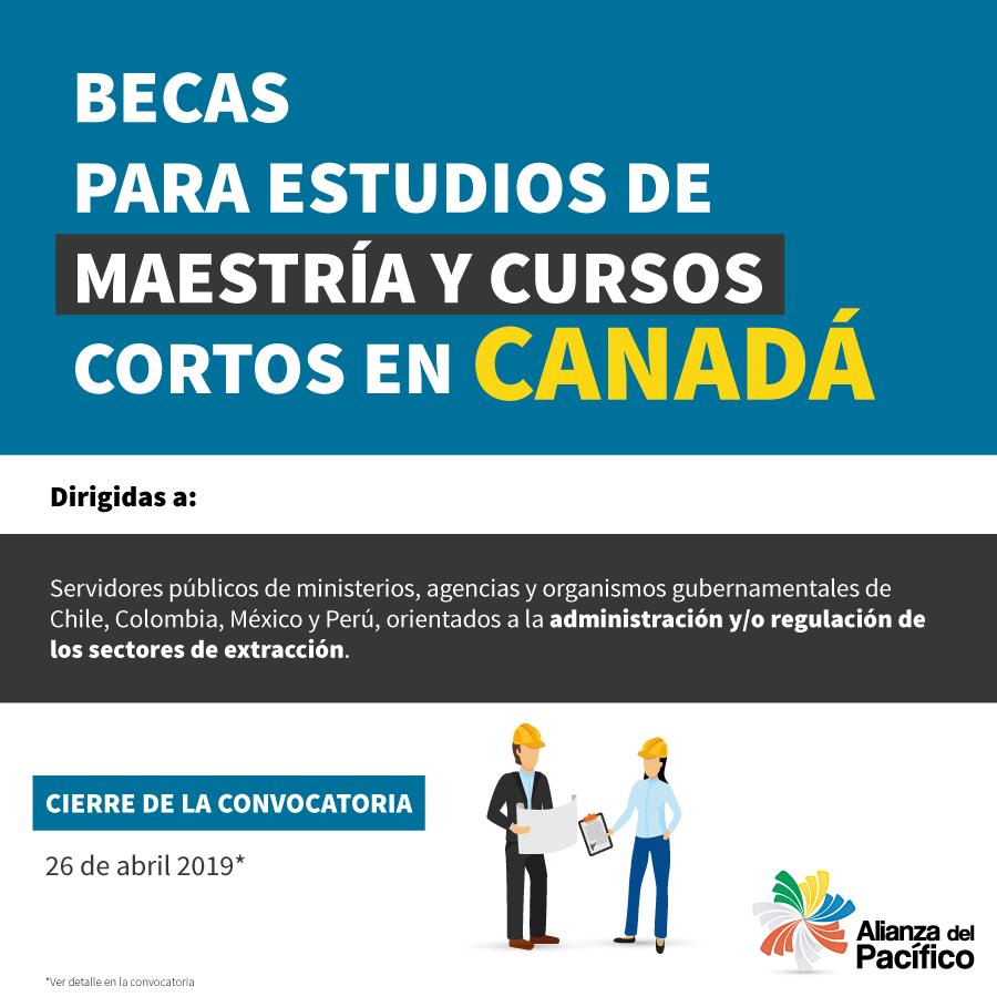 I Convocatoria del Programa de Becas Canadá-Alianza del Pacífico