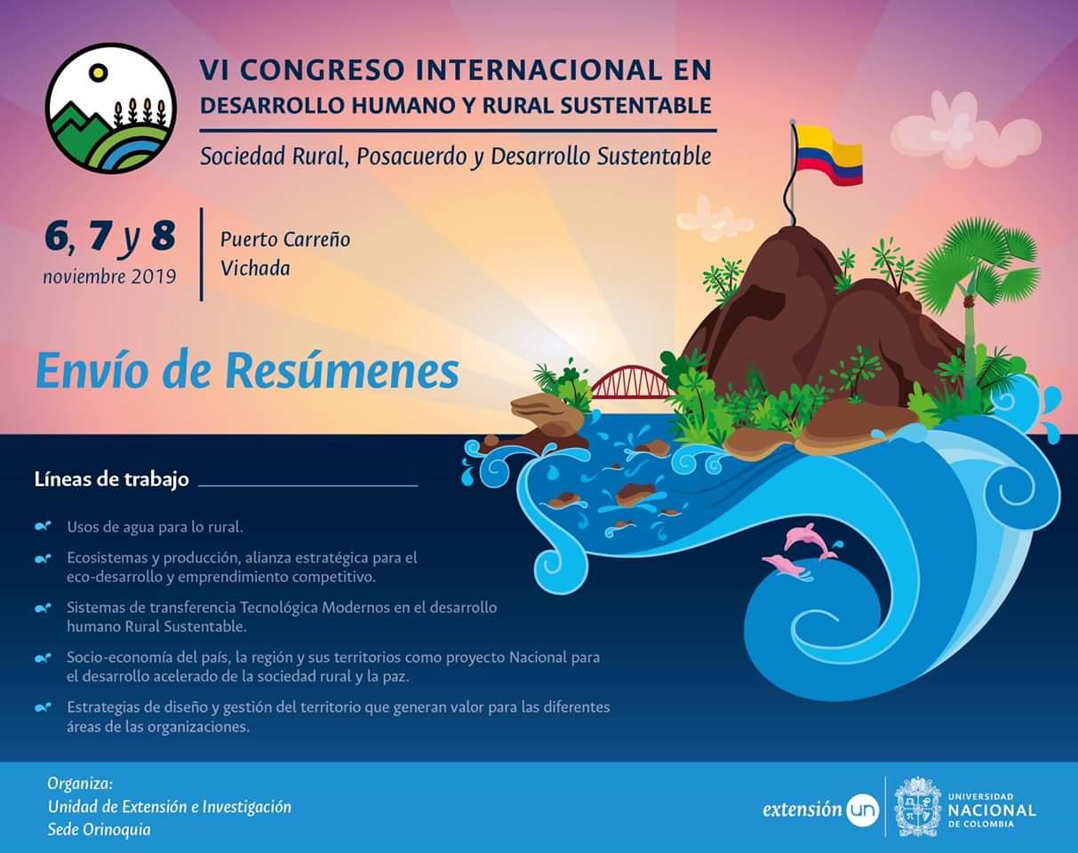 VI Congreso Internacional en Desarrollo                       Humano y Rural Sustentable