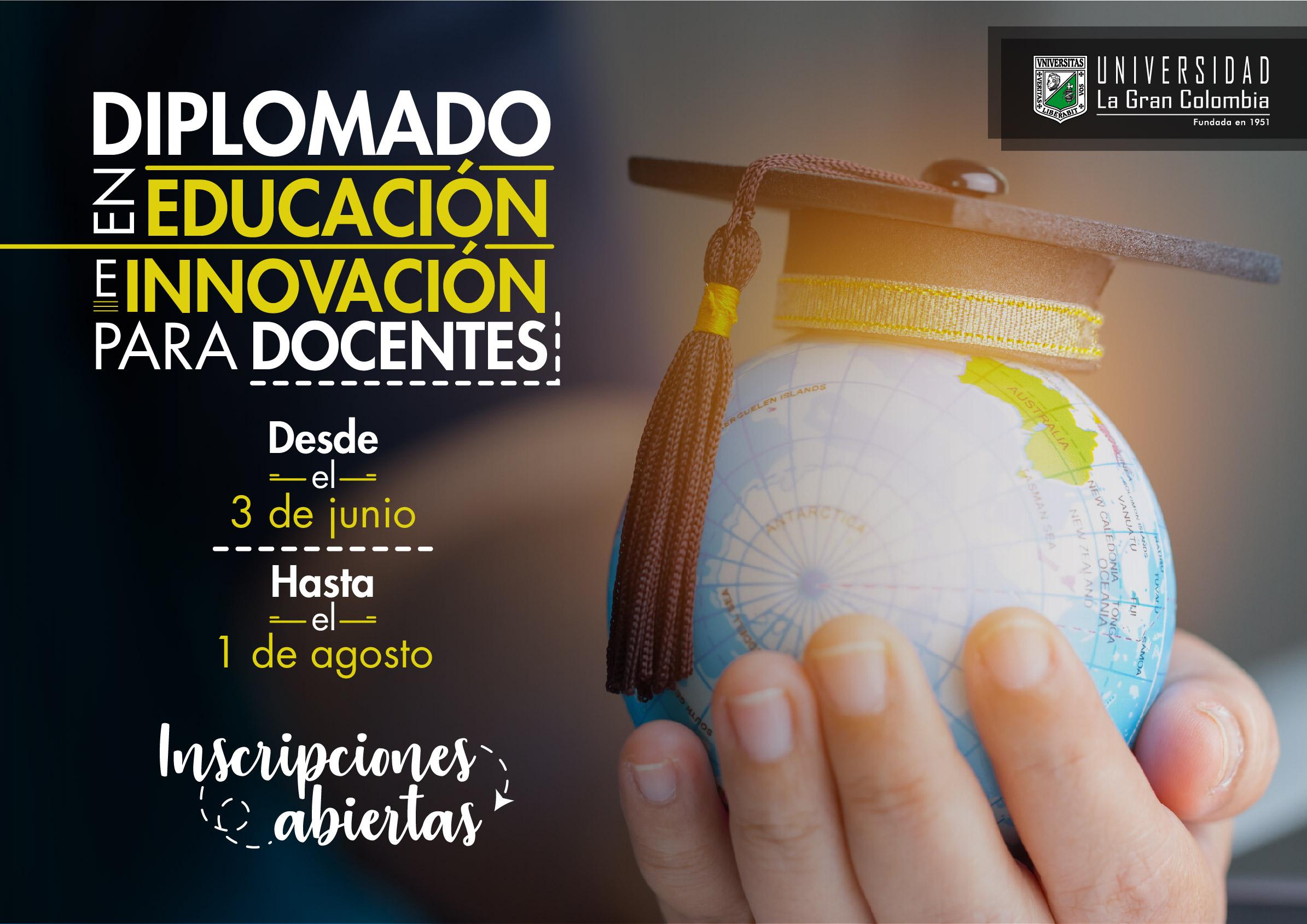 Diplomado en Educación e Innovación (sin costo para profesores de universidades miembro de ASCUN)