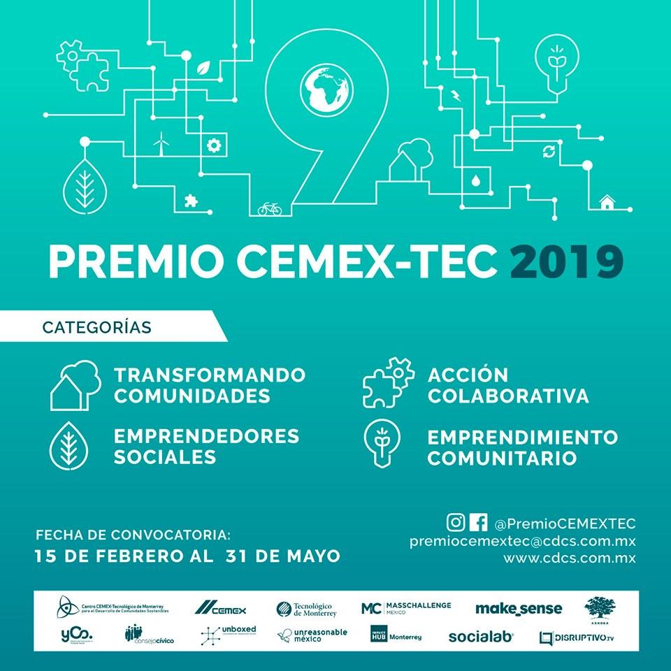 Convocatoria Premio CEMEX-TEC