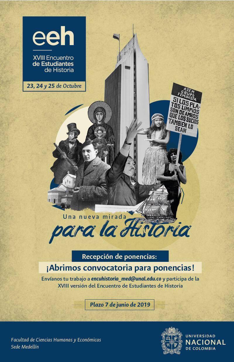 XVIII Encuentro de Estudiantes de Historia: «Una nueva mirada para la Historia»