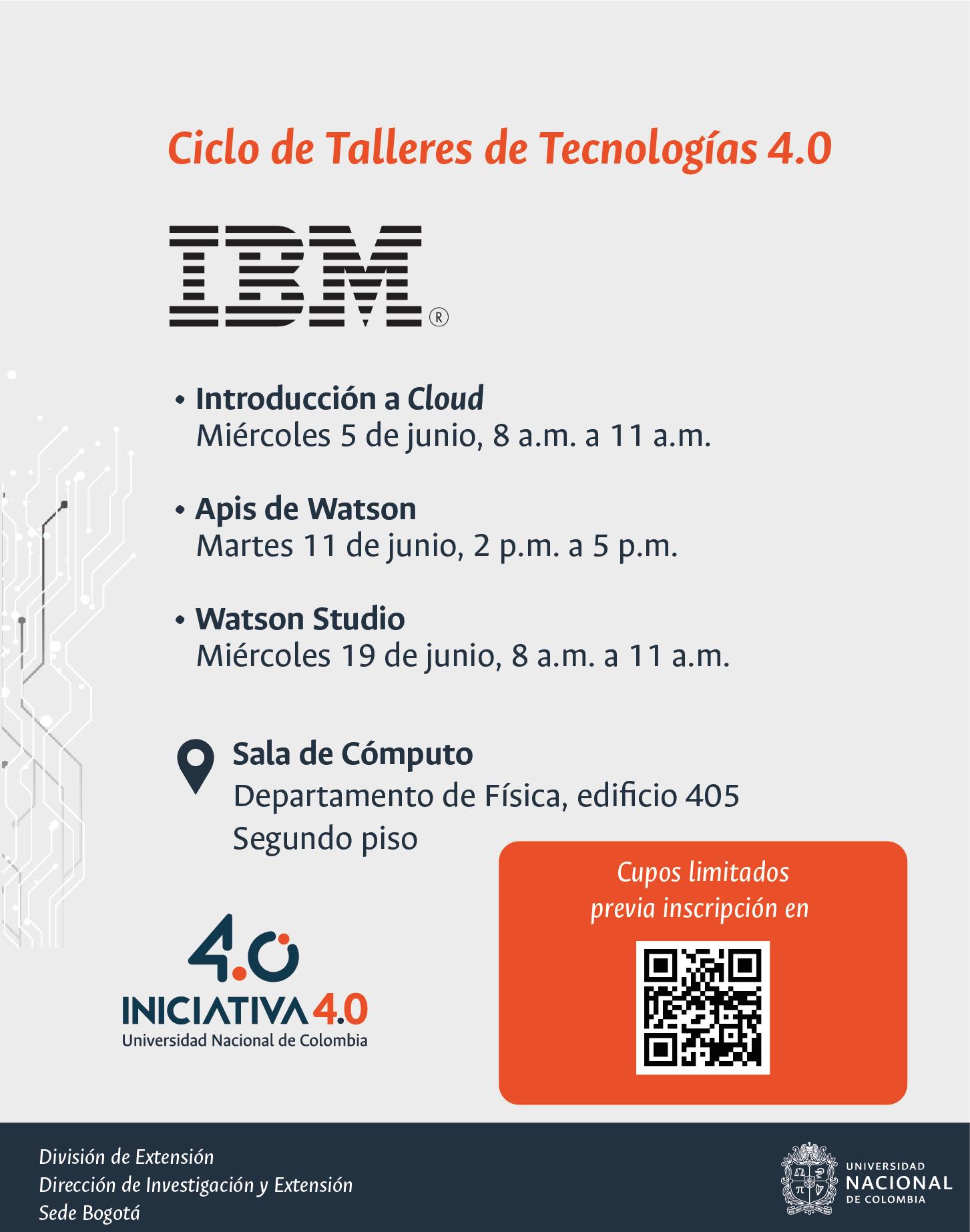 Ciclo de talleres de tecnologías 4.0