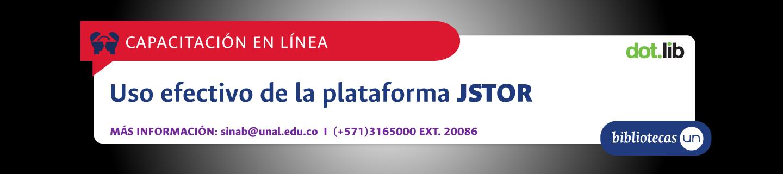 Invitación a capacitación virtual en JSTOR (junio 2019)