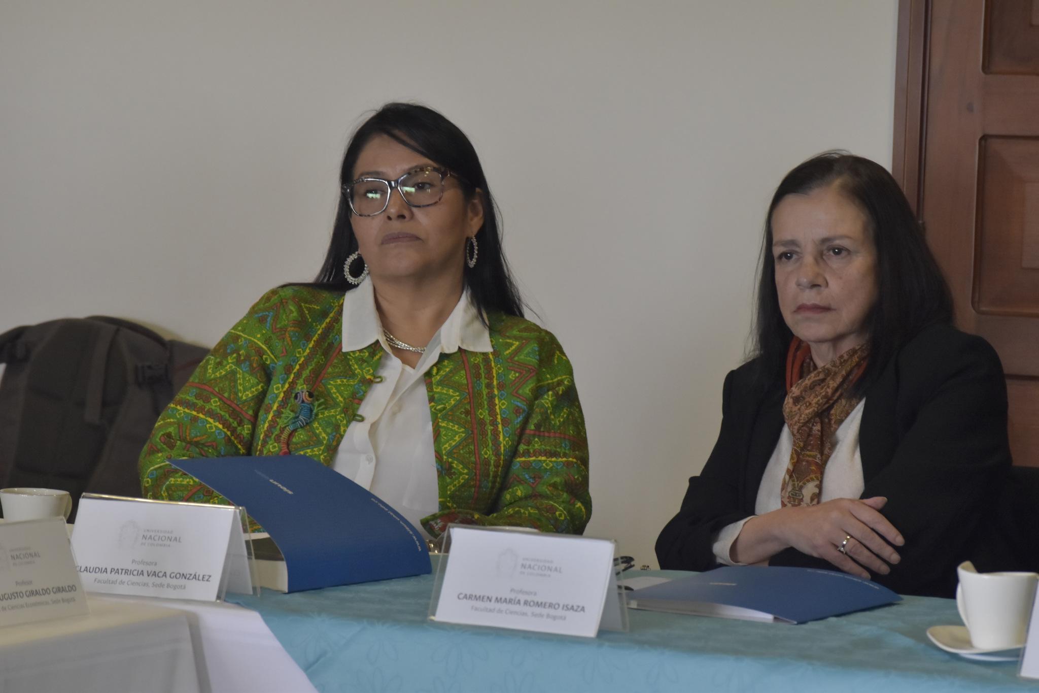 Claudia Vaca (izquierda) y Carmen María Romero (Foto: VRI)