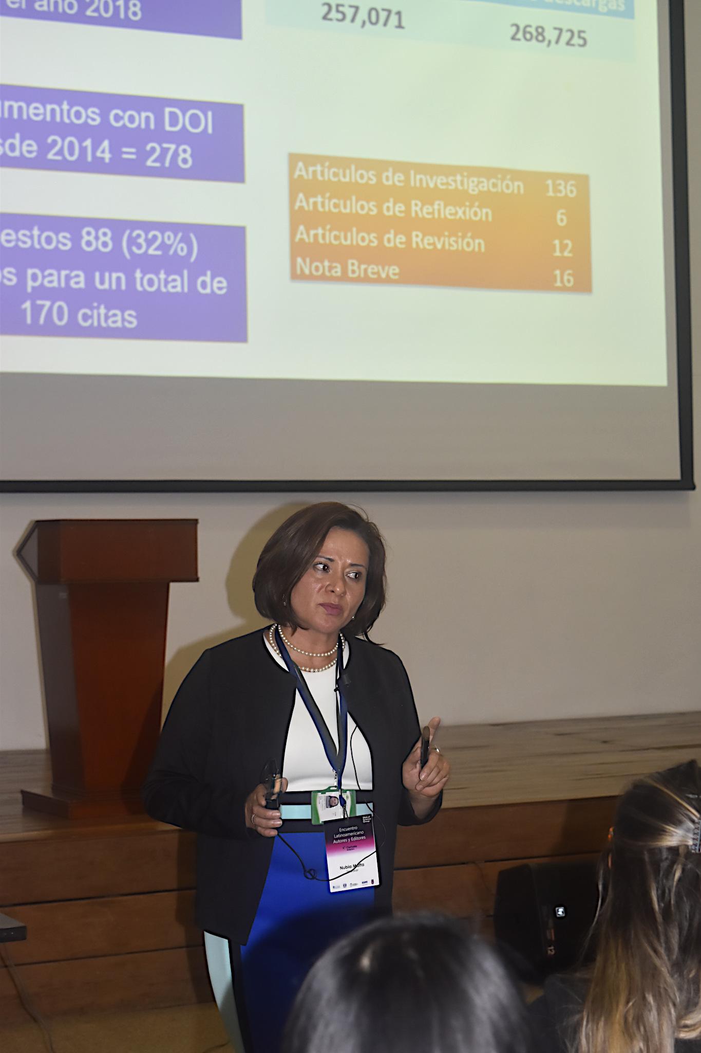 Nubia Matta Camacho, profesora de la U. N. y editora de 'Acta Biológica Colombiana' (Foto: Camilo Baquero/VRI)