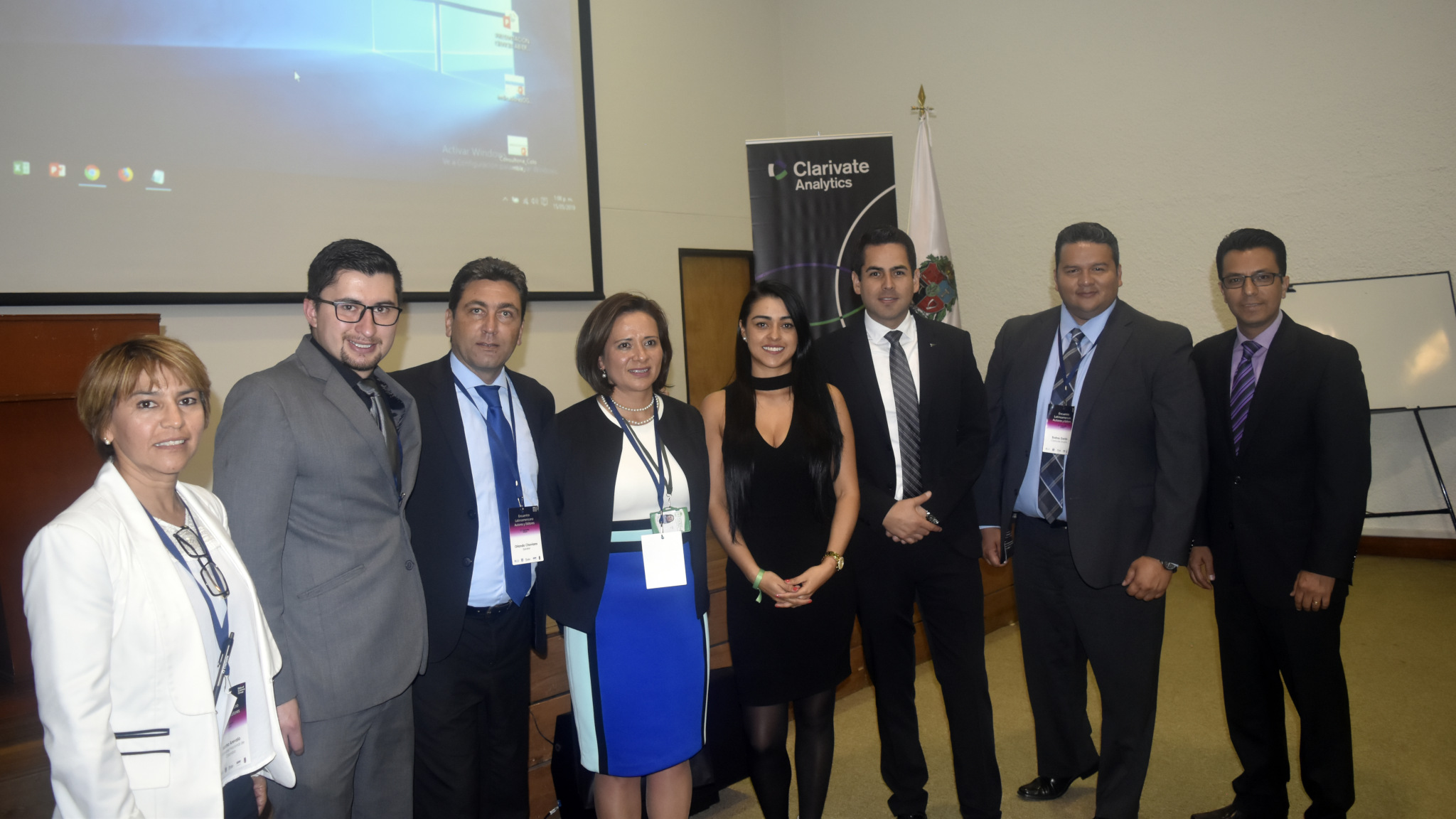 Organizadores y conferencistas del evento (Foto: Camilo Baquero/VRI)