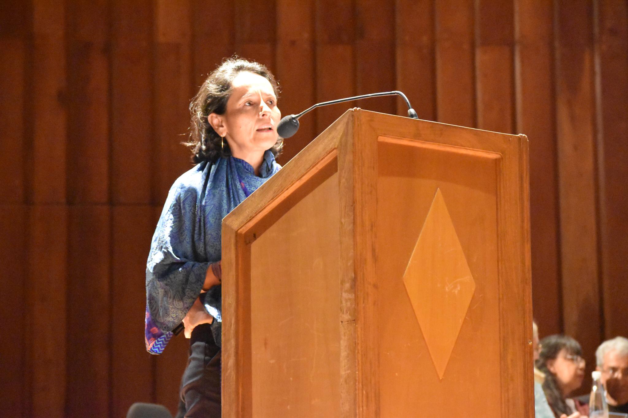 Luz Marina Monzón, directora de la Unidad de Búsqueda de Personas Dadas por Desaparecidas (Foto: Aura Flechas)