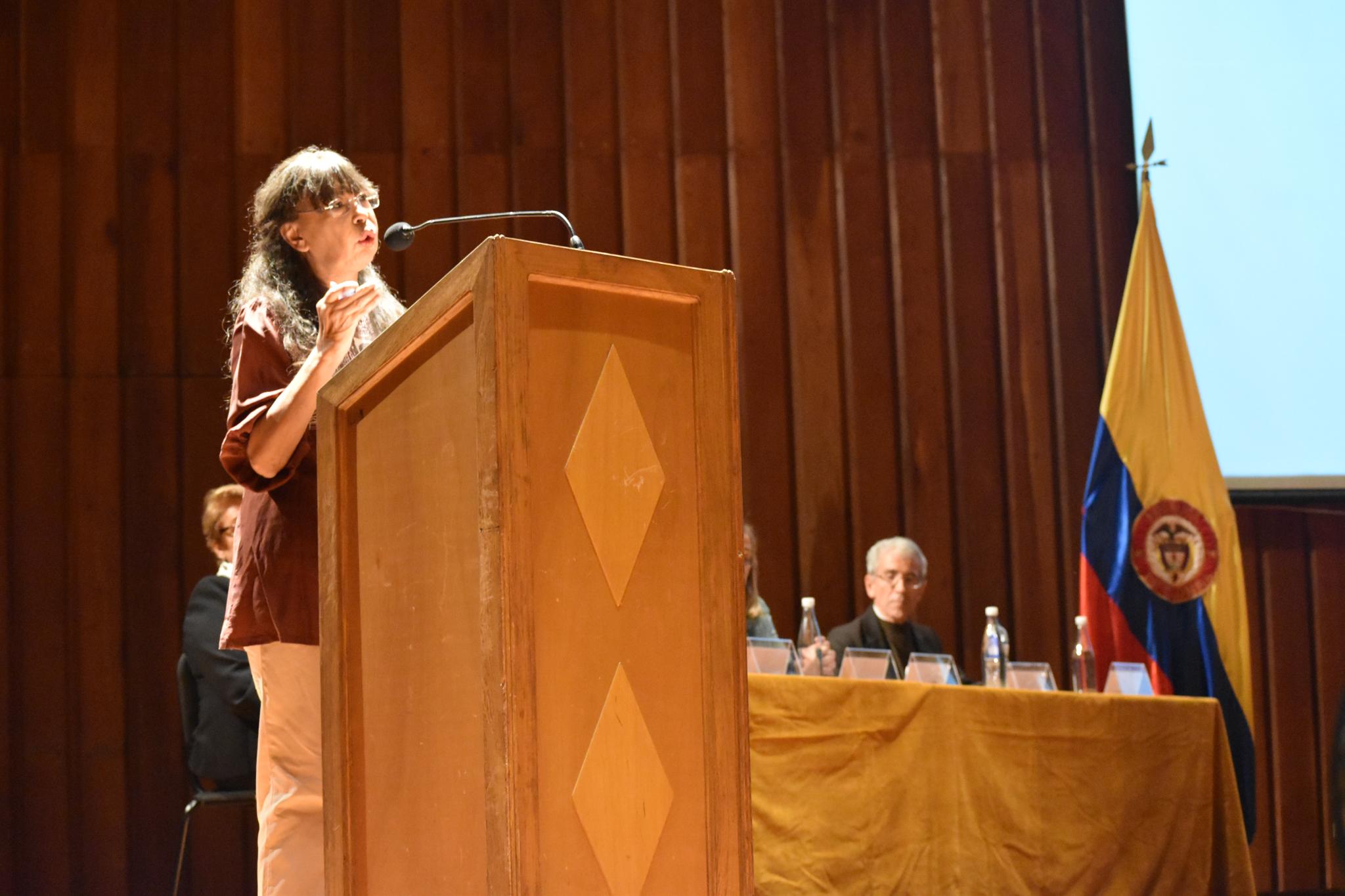 Yanette Bautista, directora de la Fundación Nydia Érika Bautista (Foto: Aura Flechas)