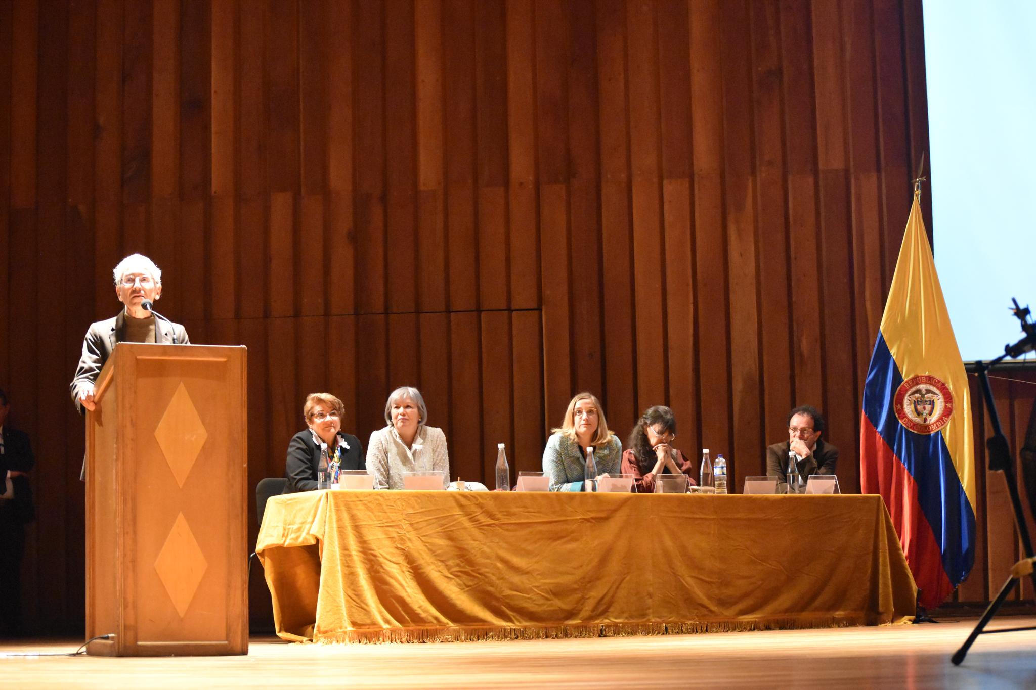 Francisco de Roux, presidente de la Comisión para el Esclarecimiento de la Verdad, la Convivencia y la No Repetición (Foto: Aura Flechas)