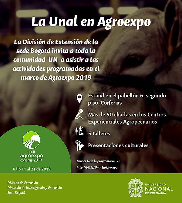 #LaUNALenAgroexpo2019