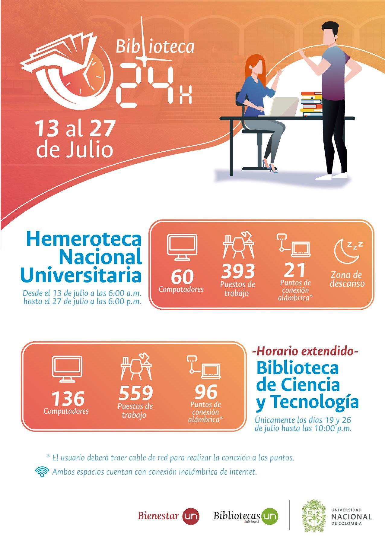 #Biblioteca24Horas Bogotá