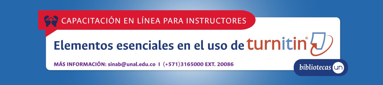 [19 jul. 2019, 14:00] Invitación a capacitación en línea «Elementos esenciales en el uso de Turnitin»