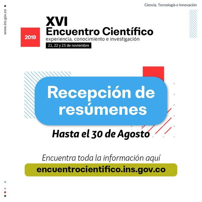 XVI Encuentro Científico (Instituto Nacional de Salud)