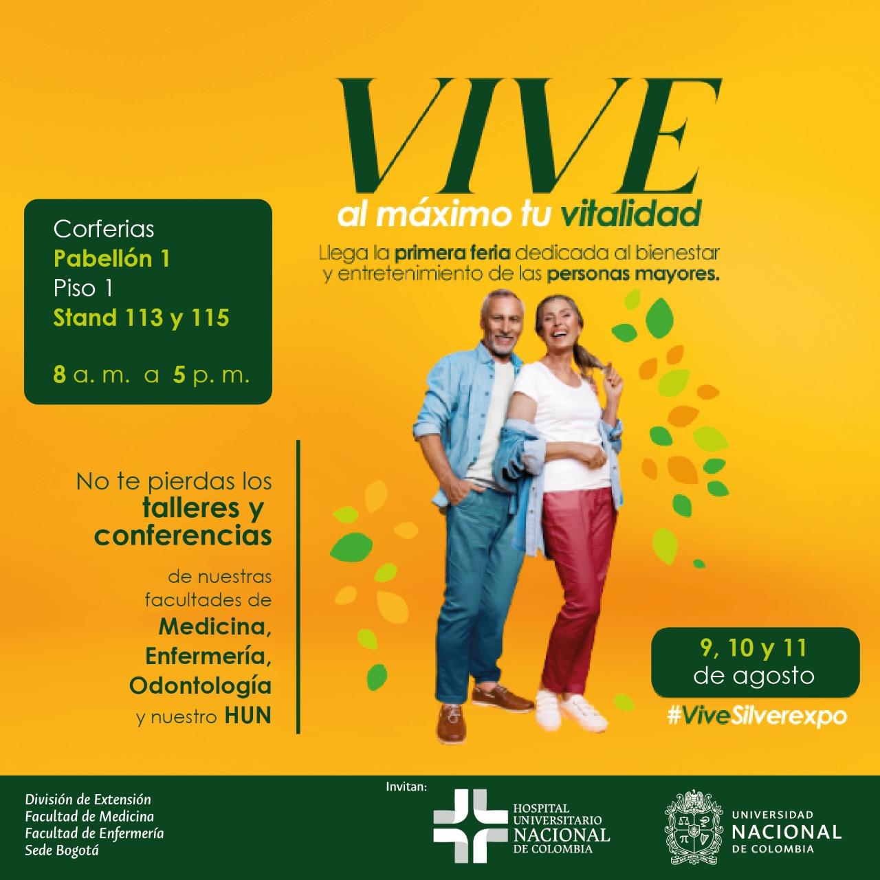 La Universidad Nacional de Colombia, presente en la feria Silverexpo 2019