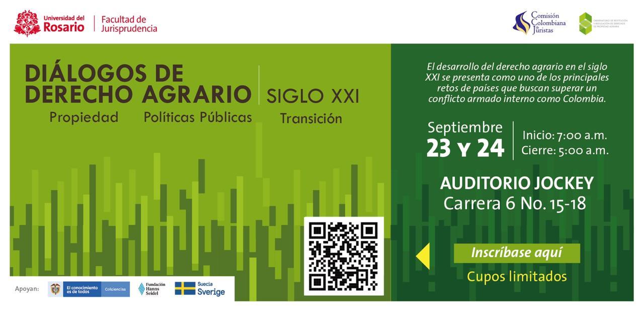 Diálogos de Derecho Agrario en el siglo XXI: propiedad, ordenamiento, distribución y transición