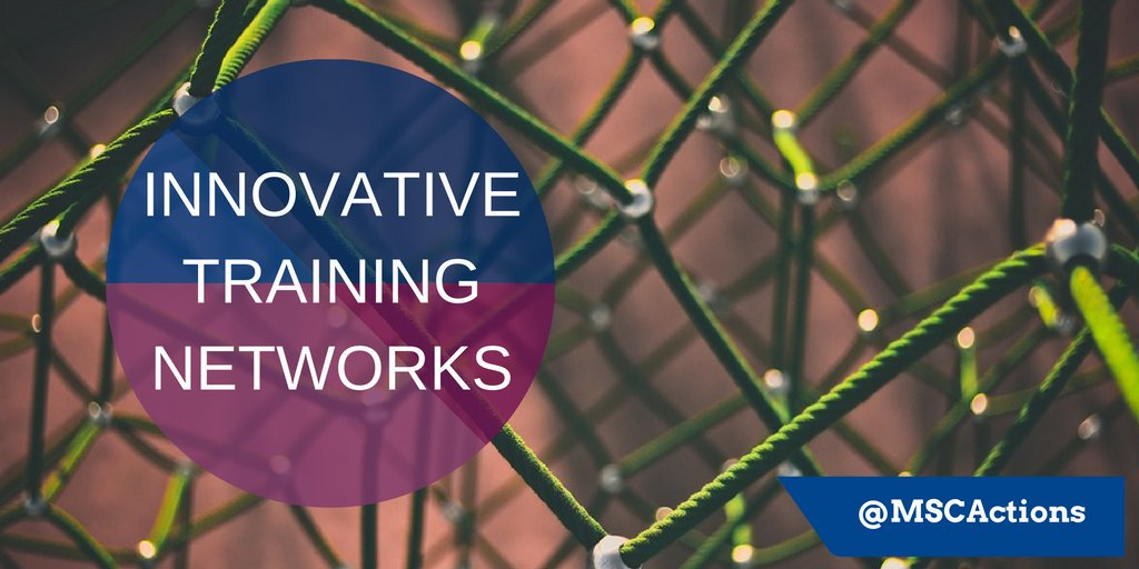 Innovative training networks (ITN) 2020
