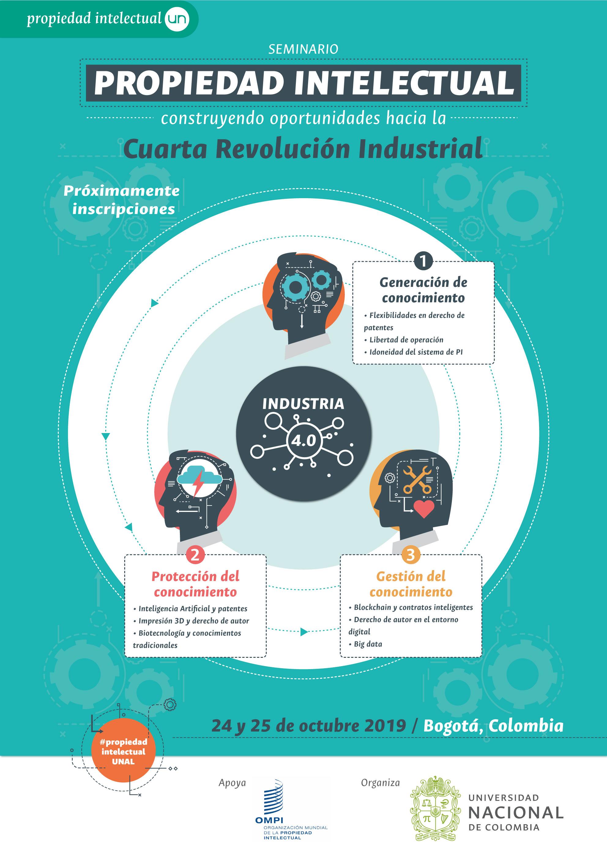 Seminario «Propiedad intelectual: construyendo oportunidades hacia la Cuarta Revolución Industrial»