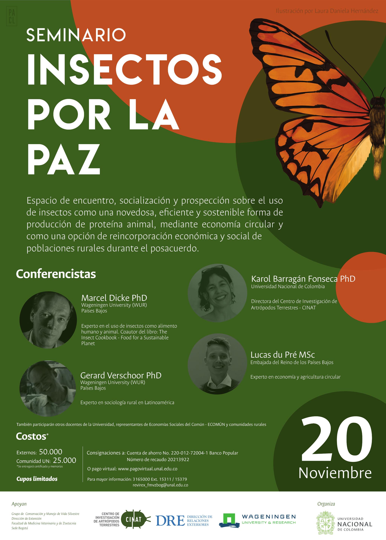 Seminario «Insectos por la Paz»