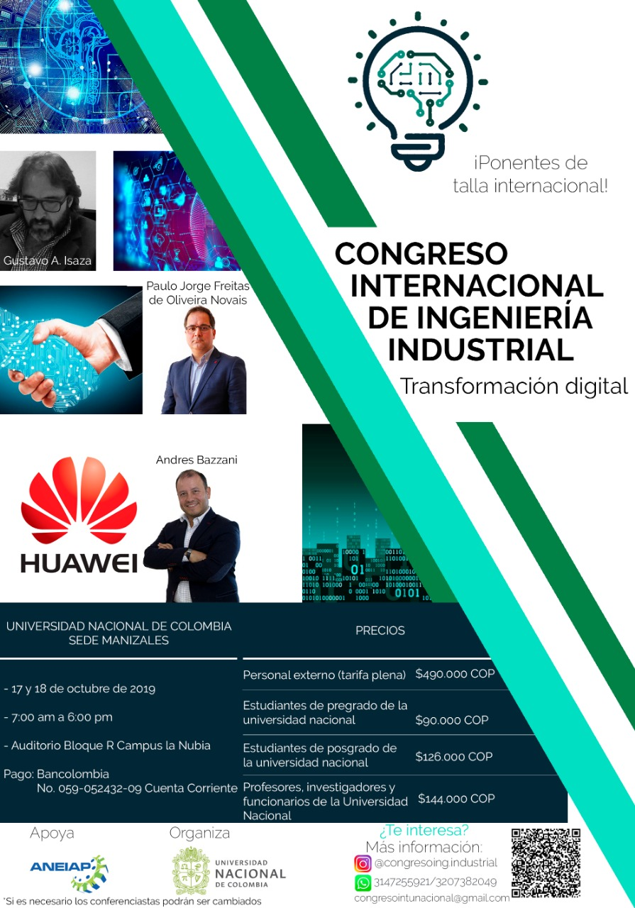 Congreso Internacional de Ingeniería Industrial 2019: transformación digital