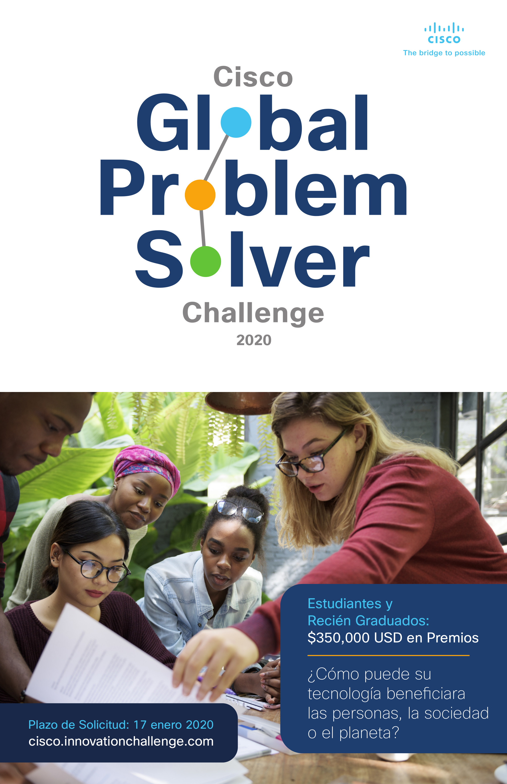 Global Problem Solver Challenge 2020 de Cisco