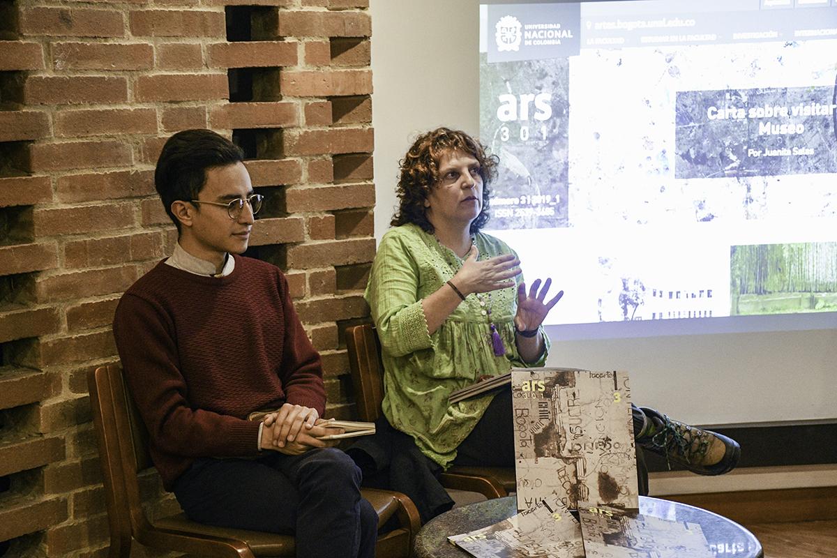 Lanzamiento revista 'ARS 301', N.° 3, «La escritura en las artes», y plataforma digital'