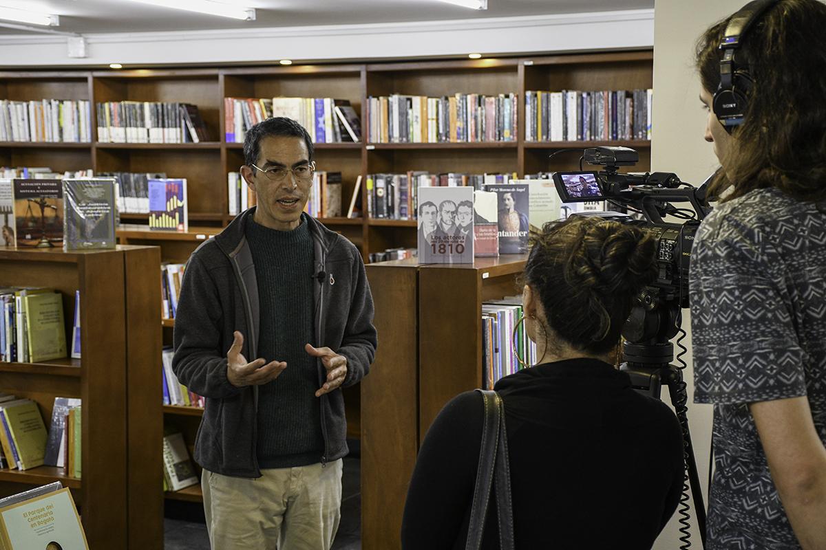 Entrevista a Luis Carlos Colón, en el marco de la presentación de su libro <i>Atlas histórico de barrios de Bogotá, 1884-1954