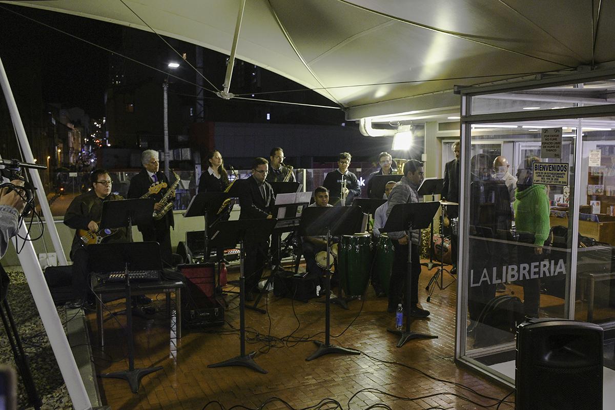 Concierto Combo U.N., grupo de música salsa y tropical en formato de «orquesta de baile» del Conservatorio de Música de la Universidad Nacional de Colombia