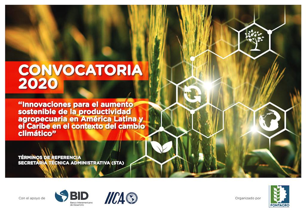 Convocatoria «Innovaciones para el aumento sostenible de la productividad agropecuaria en América Latina y el Caribe en el contexto del cambio climático» (FONTAGRO)