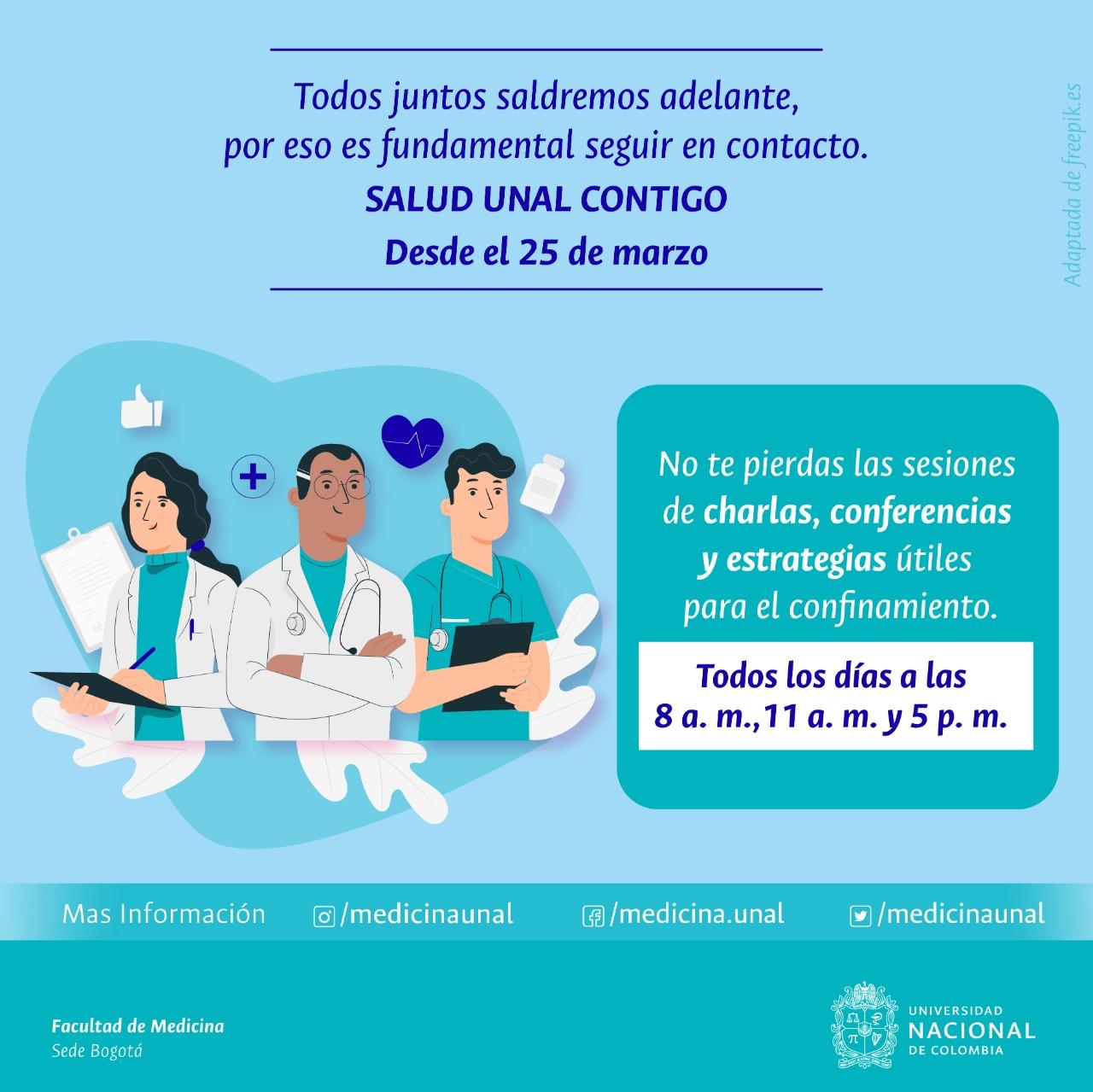 #SaludUNALcontigo