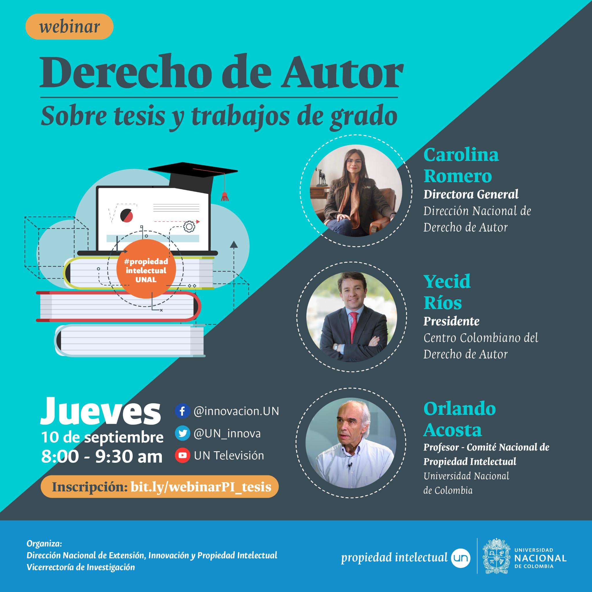 #DerechoAutorUNAL